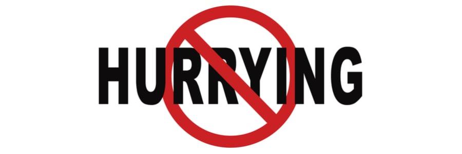 Blog Friday Roundup No Hurrying 26May17
