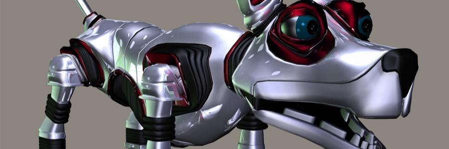 Robot Dog Scary